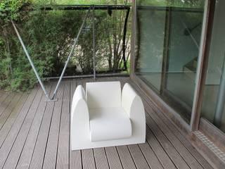 de estilo  por bv Mathieu Bruls architect, Moderno