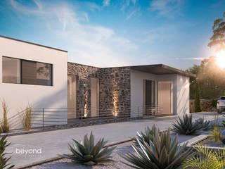 Visualisierung einer Villa im Süden:   von beyond REALITY | Architekturvisualisierung