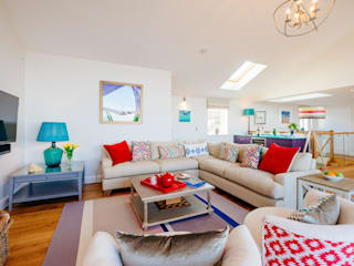 Tregoose, Polzeath | Cornwall Perfect Stays Livings de estilo moderno