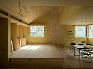 下馬の新築戸建住宅の完成見学会を開催します 北欧デザインの リビング の 株式会社エキップ 北欧