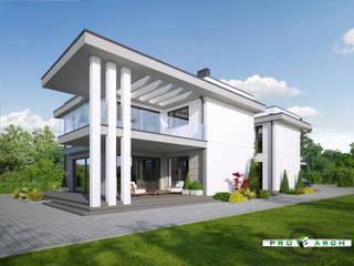 Willa miejska - Siedlce od Pracownia Projektowa ProArch Architektura Tomasz Piekarski