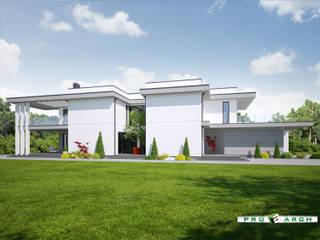 Willa miejska - Siedlce: styl , w kategorii  zaprojektowany przez Pracownia Projektowa ProArch Architektura Tomasz Piekarski