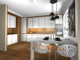 Moderne Küchen von Pat-Art wnętrza & design Patrycja Madejska Modern