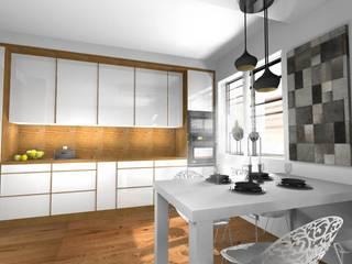 Cocinas de estilo moderno de Pat-Art wnętrza & design Patrycja Madejska Moderno