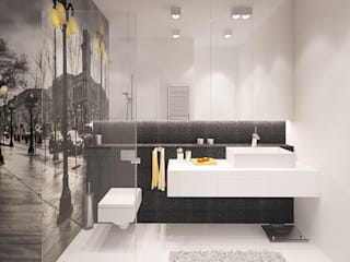 Bathroom by Ludwinowska Studio Architektury