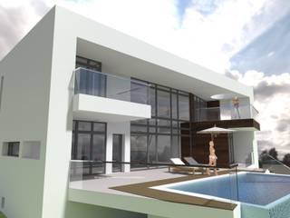 Varandas, marquises e terraços mediterrânicos por FRAMASA- Dyov Studio 653773806 Mediterrânico