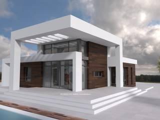 Casas campestres por FRAMASA- Dyov Studio 653773806 Campestre