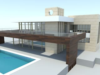 Modern houses by FRAMASA- Dyov Studio 653773806 Modern