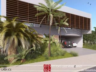 JCE HOUSE Casas modernas por STUDIO LUIZ VENEZIANO Moderno