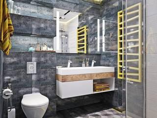 浴室 by Студия дизайна Interior Design IDEAS