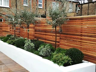Raised Flower Beds and Ever Greens :   by IS AND REN STUDIOS LTD