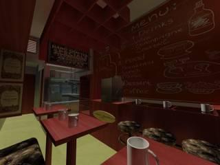 Nueva tienda Dulces Limeños Espacios comerciales de estilo moderno de Interior + Exterior Moderno