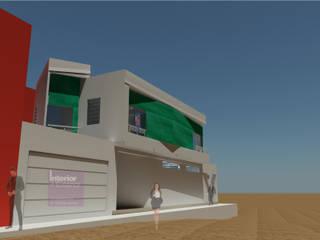 Casa en Ventanilla Casas de estilo moderno de Interior + Exterior Moderno