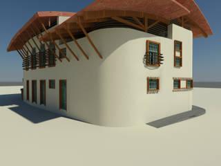 Casa de Campo Agropacha: Casas de estilo  de Interior + Exterior