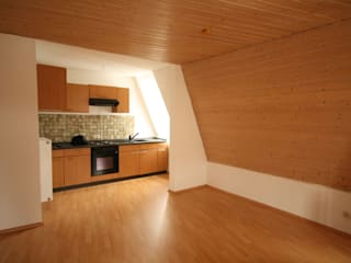 Küche/Essen/Wohnen vorher:   von Home Staging Cornelia Reichel