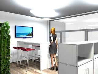 3D Visualisierung:  Bürogebäude von PFERSICH Büroeinrichtungen GmbH
