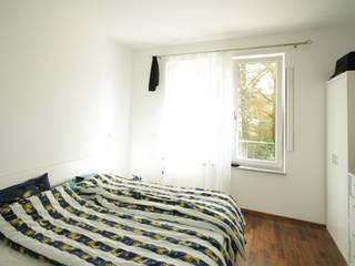Schlafzimmer vorher:   von Home Staging Cornelia Reichel