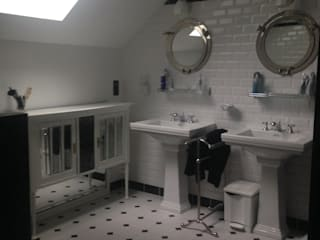 Salle de bain style art déco Salle de bain moderne par POPPIN' WOOD Moderne