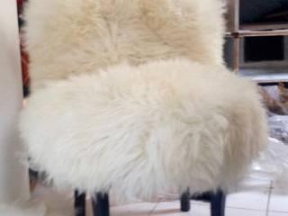 Fluffy fauteuil par POPPIN' WOOD Moderne