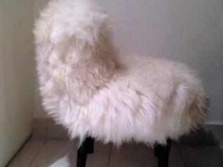 Fluffy fauteuil par POPPIN' WOOD Éclectique