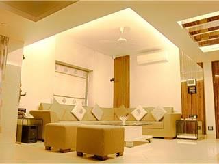 Salon de style  par HK ARCHITECTS, Moderne