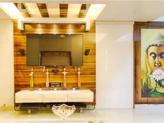 2BHK RESIDENCE Modern bathroom by HK ARCHITECTS Modern