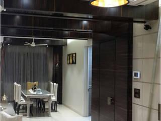 Salle à manger de style  par HK ARCHITECTS, Moderne