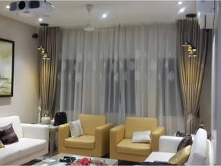 PIROZE PALACE Modern living room by HK ARCHITECTS Modern
