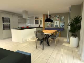 Dining room by .Villa arquitetura e algo mais,