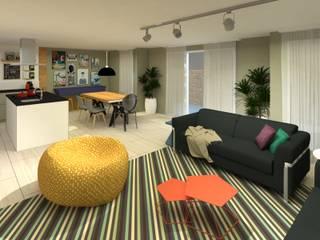 Modern Oturma Odası .Villa arquitetura e algo mais Modern
