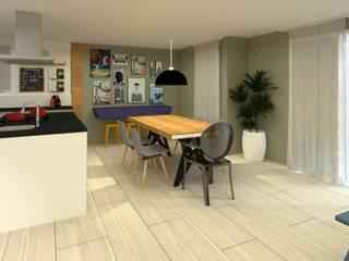 Modern Yemek Odası .Villa arquitetura e algo mais Modern