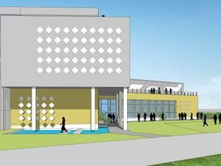 飯店 by Myspace Architects, 現代風