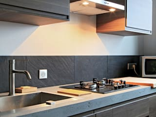 Rosny Concrete LCDA Kitchen Concrete Grey
