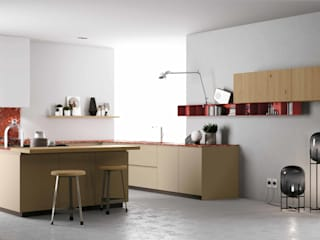Modelo de Cozinha Materia da Doimo Cucine: Cozinhas  por Grupo Emme Cozinhas,Moderno