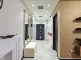 """Квартира в ЖК """"Дом на Щукинской"""" Коридор, прихожая и лестница в классическом стиле от ARTteam Классический"""