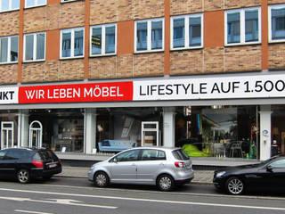 Einrichtungshaus/Ausstellung:  Häuser von Roter Punkt GmbH