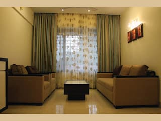 A Quick Make Over....!!!!:  Living room by Neha Changwani,Classic