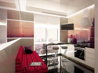 Дизайн кухни в современном стиле Одесса: Спальни в . Автор – FOREST DESIGN