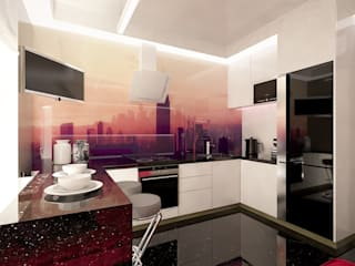 дизайн современной кухни в Одессе: Ванные комнаты в . Автор – FOREST DESIGN