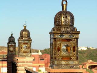 Farol en bronce:  de estilo  de Decoración Andalusí Iluminación