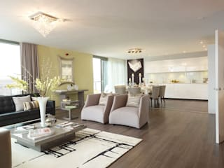 Interiors:  Living room by Countryside Properties