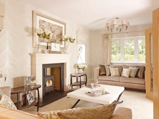 Interiors: classic Living room by Countryside Properties