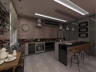 Reforma AL Cozinhas rústicas por Plano A Studio Rústico
