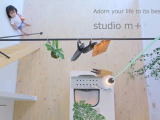 Moderne Küchen von studio m+ by masato fujii Modern