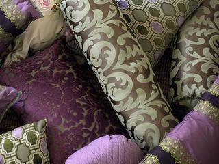 Cojines hechos a mano:  de estilo  de Decoración Andalusí Textil & Tapicería
