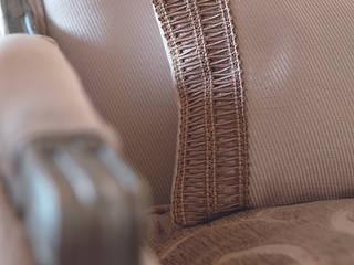 Cojín para sillón:  de estilo  de Decoración Andalusí Textil & Tapicería
