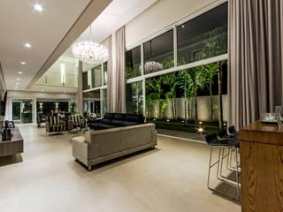 Projeto Nova Aliança Sul Salas de estar modernas por Marcelo Pajaro Arquitetura e Design Moderno