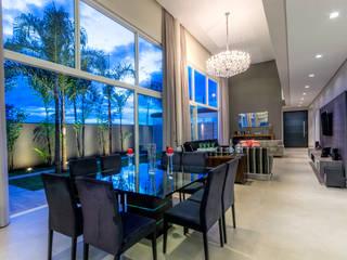 Projeto Nova Aliança Sul Salas de jantar modernas por Marcelo Pajaro Arquitetura e Design Moderno