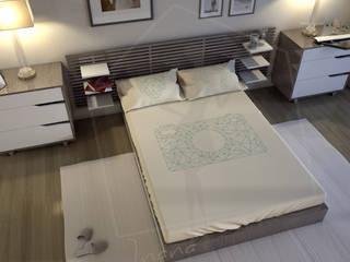 I nostri lavori Camera da letto moderna di CA'MI design Moderno