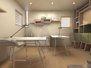 I nostri lavori Studio moderno di CA'MI design Moderno